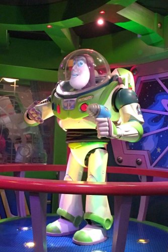Buzz Light year Disney character