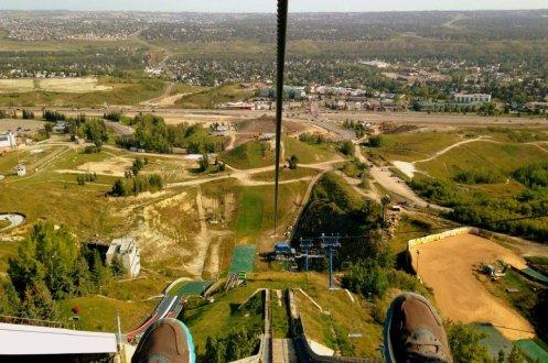 Zipline Calgary Canada Olympic Park