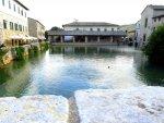 Roman spa town Bagnon vignoni