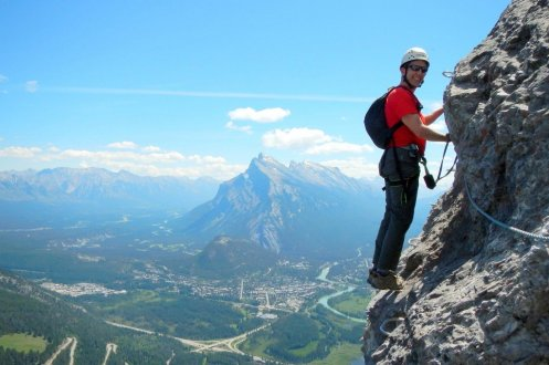 Banff Mt Norquay via ferrata