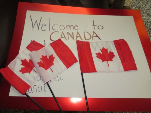 Syrian refugees to Canadaign