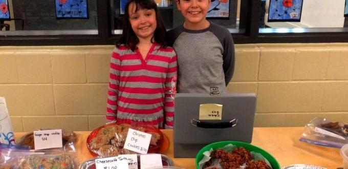 Calgary Food Bank bake sale fundraiser