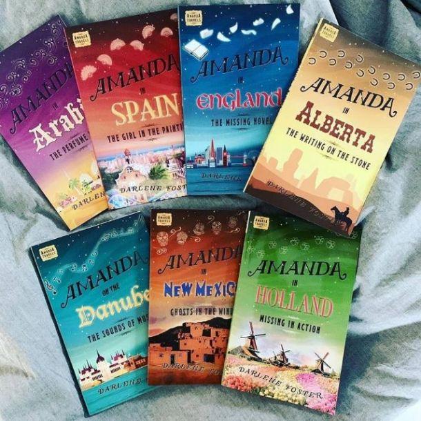 Amanda Travels book series