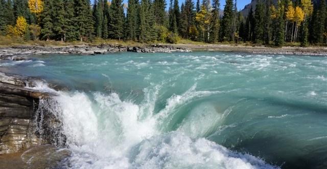 Athabaca Falls Jasper National Park
