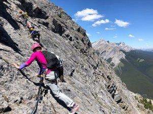 Banff Mount Norquay via ferrata guide