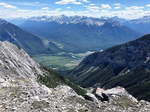 Banff Mt Norquay Via Ferrata View