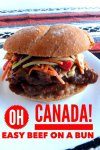 Beef on a bun Canada recipe