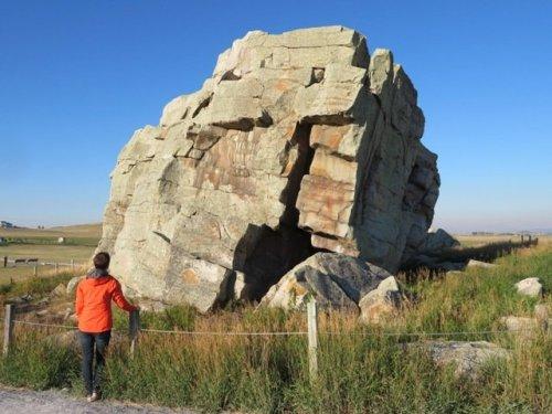 Big Rock at Okotoks
