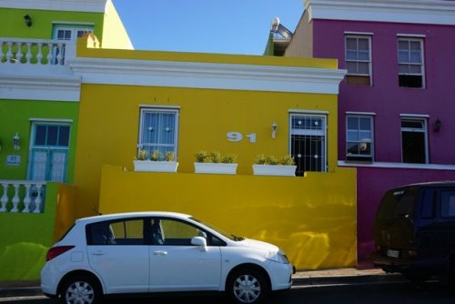 Capetown Colorful houses