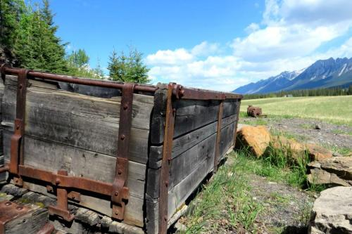 Canmore coal mining antiques