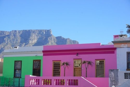 Capetown colourful houses