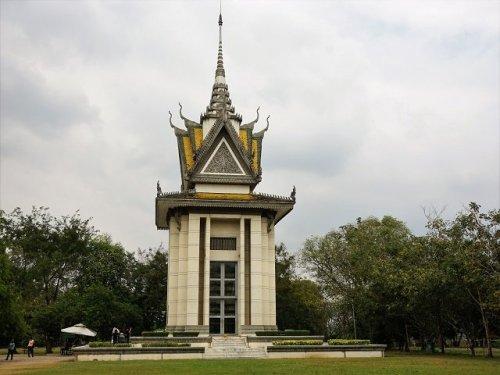 Choeung Ek Buddhist Stupa Cambodia Killing Field