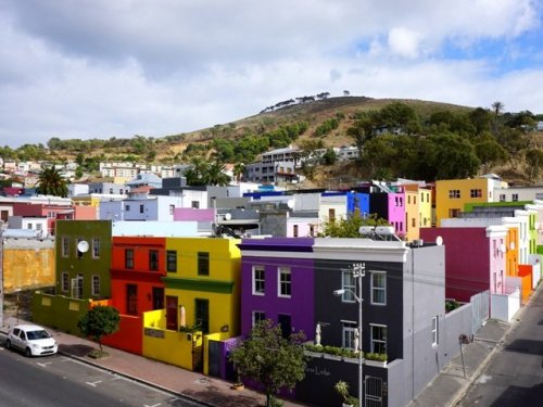 Coloured Houses Capetown South Africa