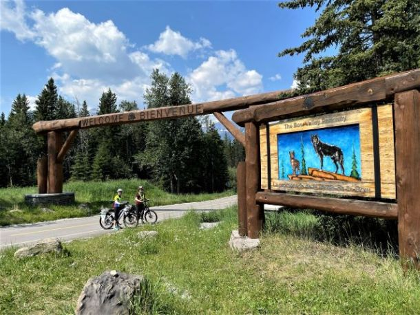 Ebikes Bow Valley Parkway