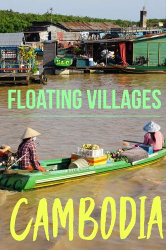 Cambodia travel is more than Angkor wat in Siem Reap. Click to learn more about nearby the floating villages of Tonle Sap lake. #Cambodia #TonleSap #Cambodiatravel #travel #SoutheastAsia #Cambodiaboattour