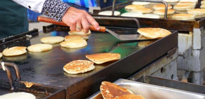 Calgary Stampede breakfast