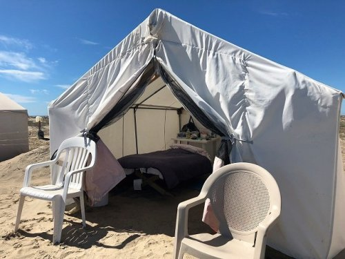 Glamping tent Mar Y Aventuras whale watching