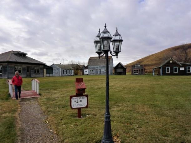 Early badlands settlement St Ann Ranch