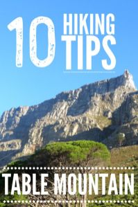 Looking for things to do in Cape Town South Africa? Click for 10 must know tips for Table Mountain hiking . Learn about the Cape Town hiking trails on the Table Mountain hike Platteklip Gorge. #Capetown #Capetownhiking #Tablemountain