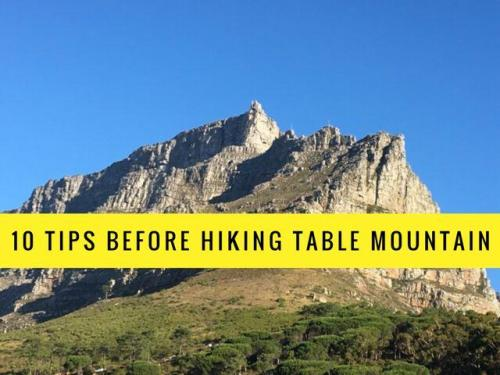 Hiking Table Mountain