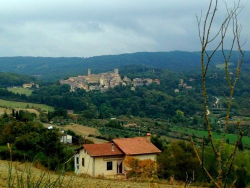 Italy Hill town San Casciano