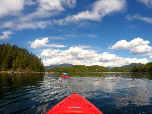 Kayaking Blind Channel Resort