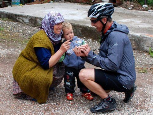 Kind people in Turkey