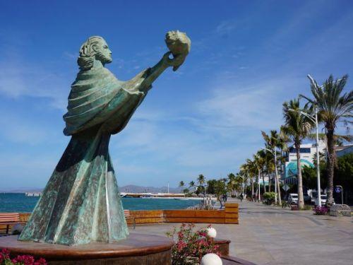 La Paz Malecon Sculpture