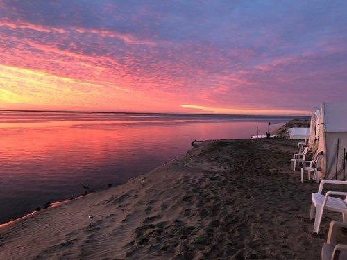 Magdalena Bay sunrise