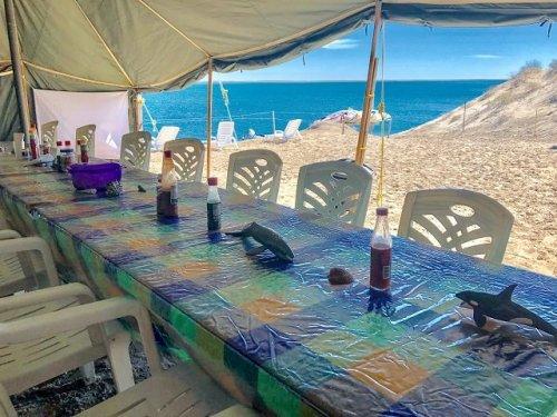 Mar Y Aventuras Dining tent