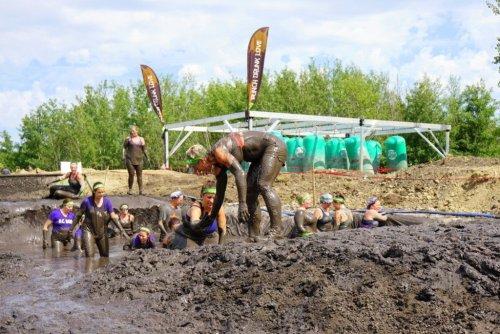 Mud Run Red Deer