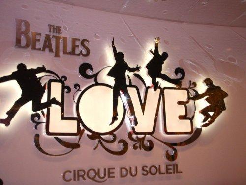 Beatles Love shop Vegas