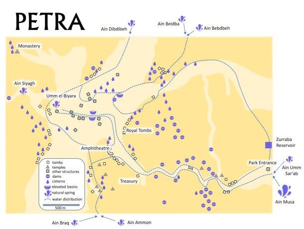 Petra map