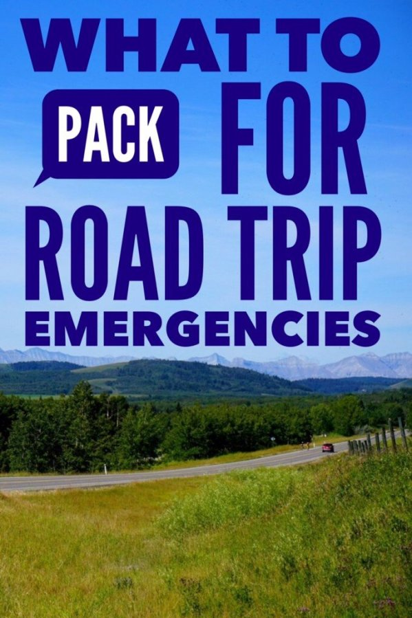 Pack for Road Trip Emergency