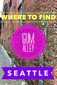 Planning Seattle travel? Click to learn about the chewing gum wall in Seattle. Fun facts like how the gum wall is cleaned and where to find Seattle's most unusual tourist attraction. #Seattle #Seattlegumwall #Seattletravel #gumwallSeattle