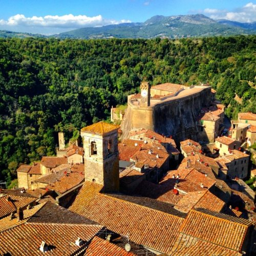 Sorano Italy Hilltop Town