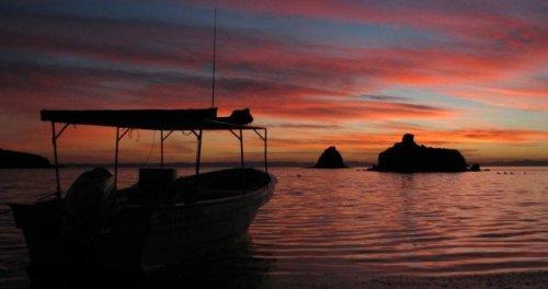 sunset Baja Mexico