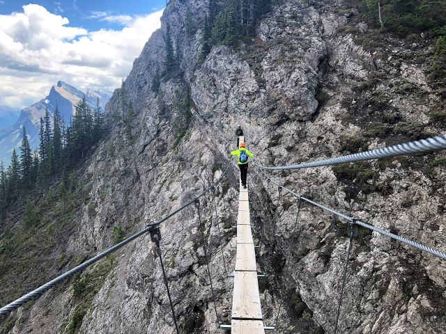 Overcoming Fear of Heights On Norquay's Via Ferrata - Travel Tales of Life