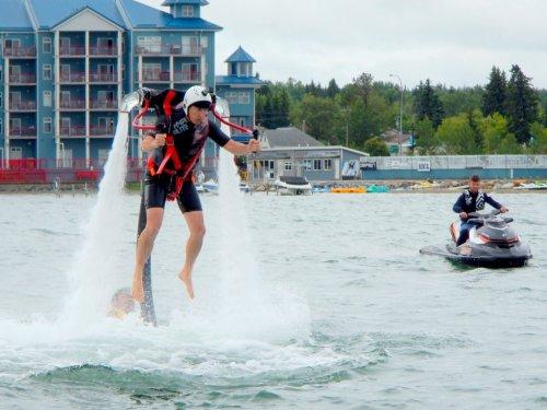 Water jetpack Alberta Flyboard