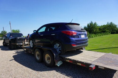 Tow truck Saskatchewan