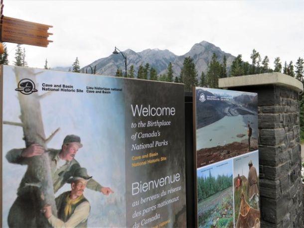 Visiting Banff National Park Cave and Basin