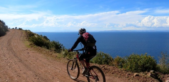 lake titicaca cycling training