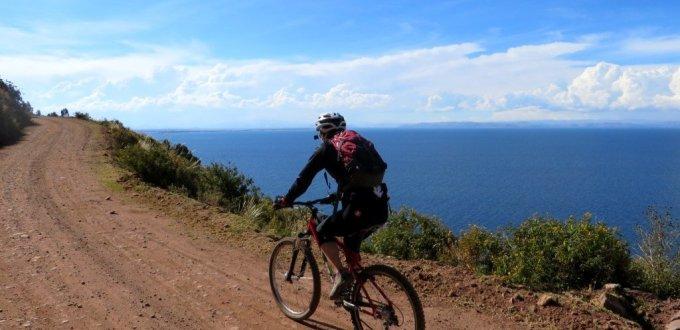 lake titicaca cycling training