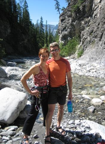 travel partner rock climbing