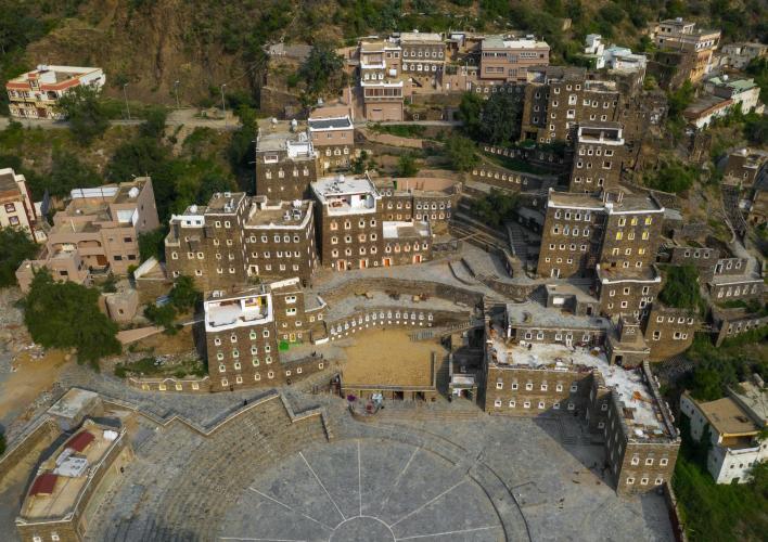 بالصور : لقطات رائعة من كاميرا طائرة بدون طيار للمناطق الاثرية في المملكة 13