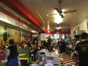 Inside DeLuca's Diner