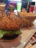 Planet Hollywood Burger and Fries