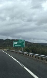 Exit to Sedona