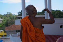 The friendly monk.