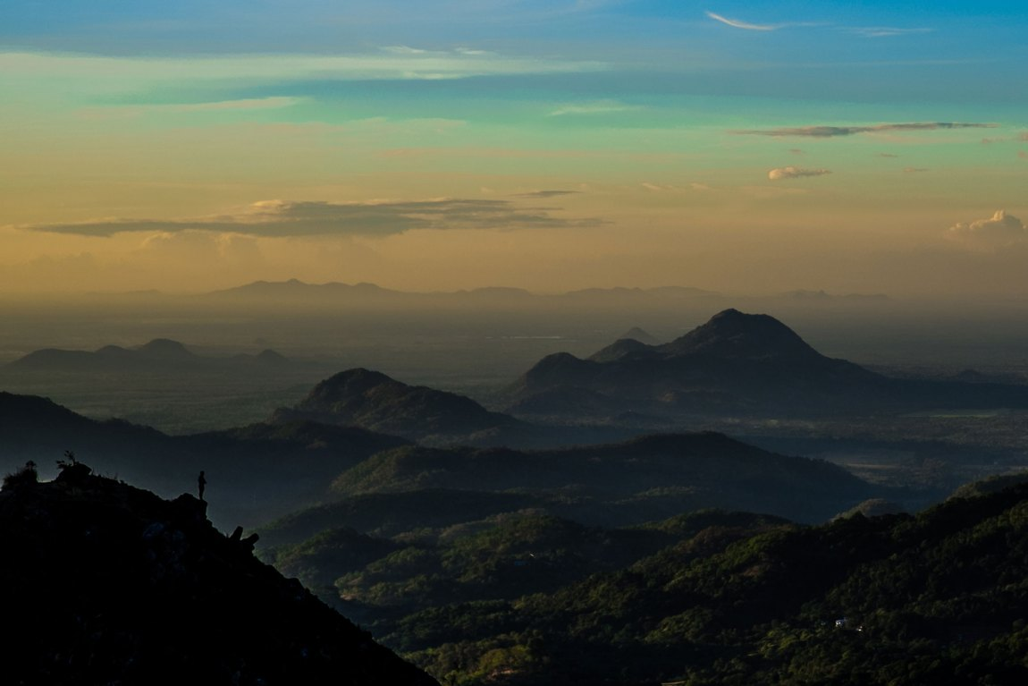Little Adam's Peak at Sunset